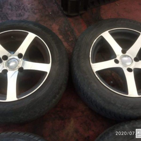 """4 cerchi in lega 14"""" Ford Fiesta 2008"""