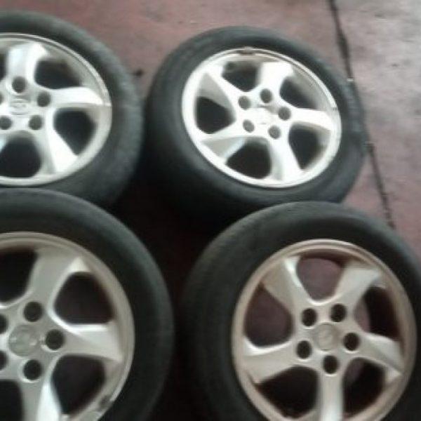 """4 Cerchi in Lega Mazda 5 fori da 15"""""""