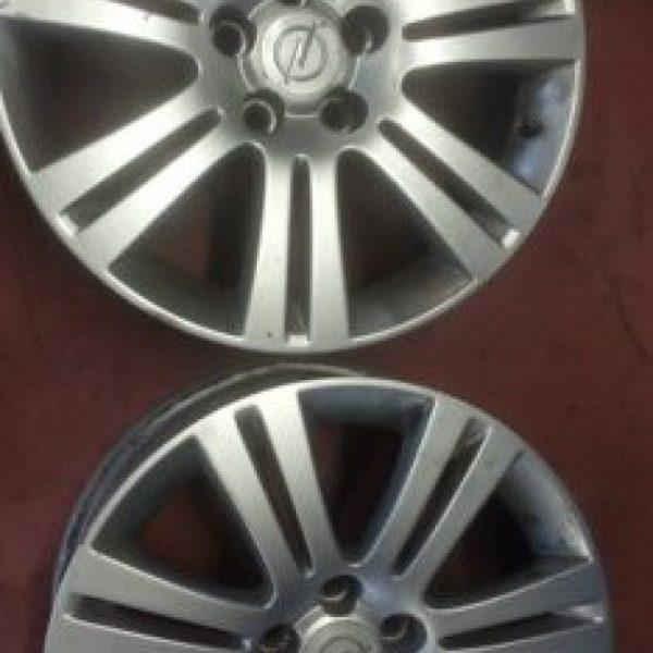 4 Cerchi in lega Opel da 17′ 5 fori