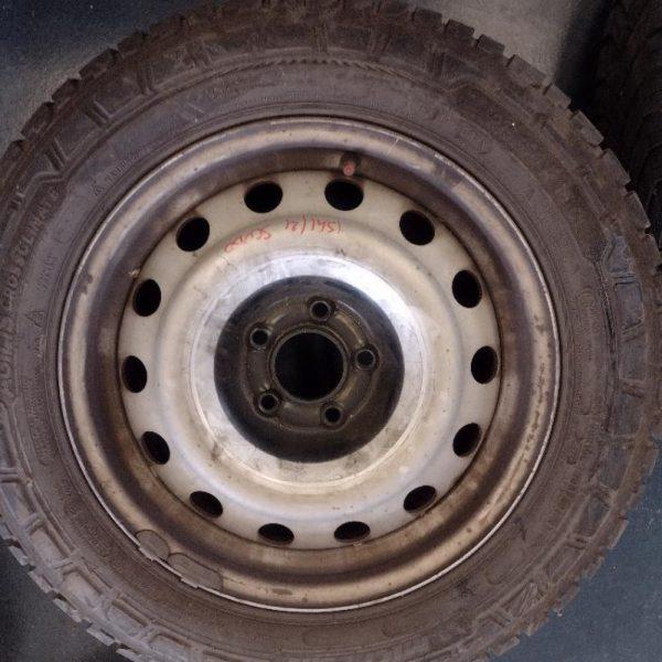 2 Cerchi con Gomme Fiat Scudo 216/60/R16C