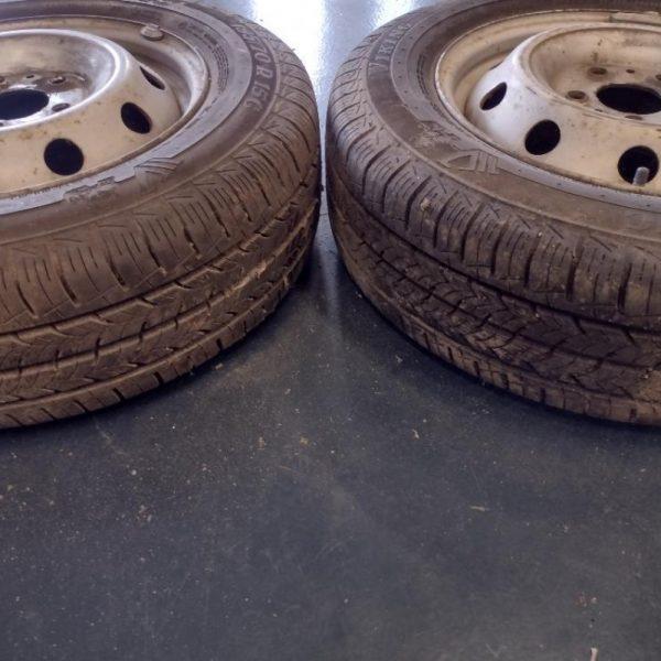 2 Cerchi con Gomme Fiat Ducato 195/70/R15C