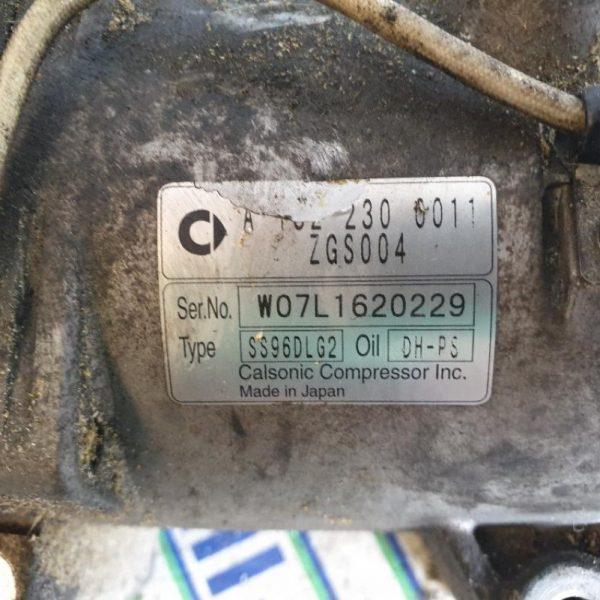Compressore A/C Smart Fortwo 3B21 2008
