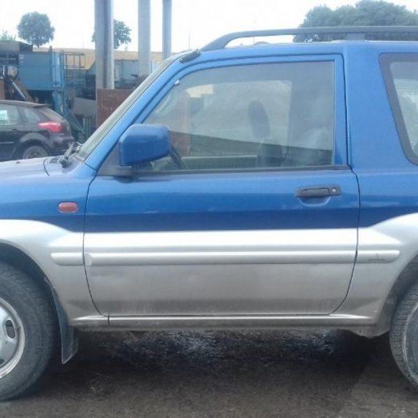 Mascherina con logo Mitsubishi Pajero Pinin 2000