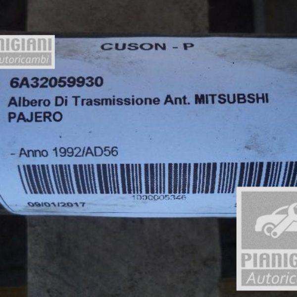 Albero Trasmissione Anteriore Mitsubishi Pajero