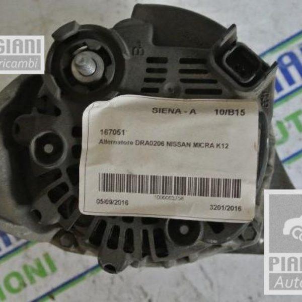 Alternatore DRA0206 Nissan Micra K12 2004