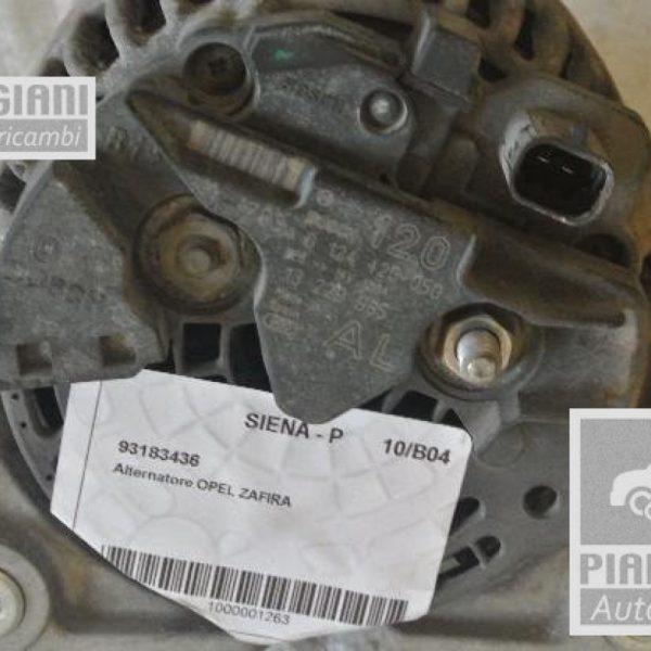 Alternatore DRA1148 Opel Zafira