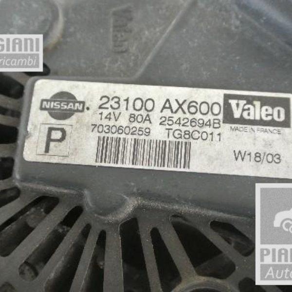 Alternatore Nissan Micra DRA4289