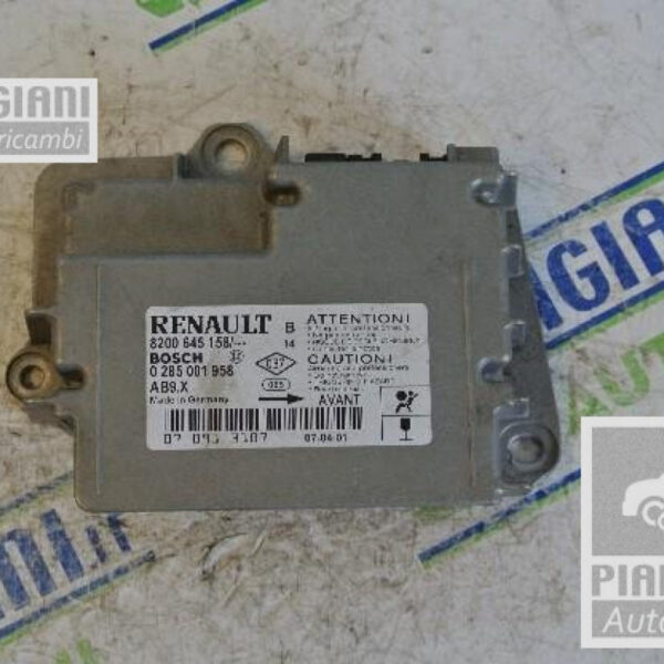 Centralina Airbag   Renault Clio 3a Serie