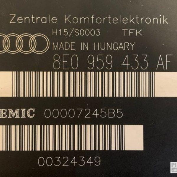 Centralina Comfort | Audi A4 Anno 1998