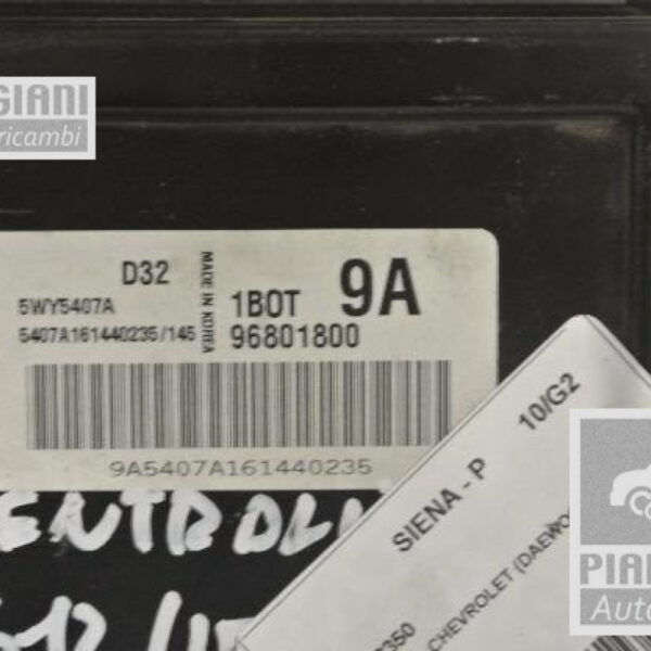 Centralina motore | Chevrolet Matiz 796 cc