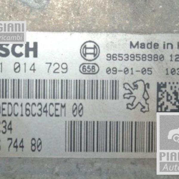 Centralina Motore | Citroen C4 Picasso 1.6 HDi