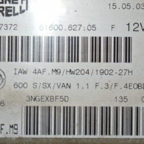 Centralina Motore | Fiat 600 187A1000
