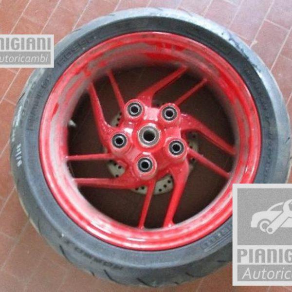 Cerchio con pneumatico post ducati monster 797