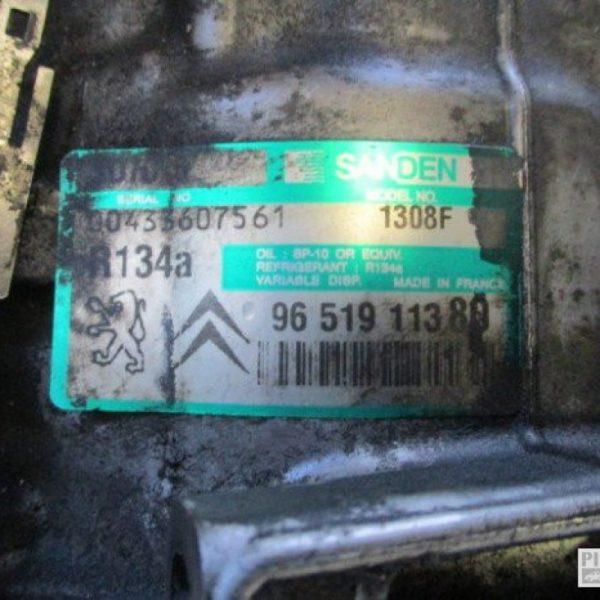 Citroen C5 Compressore Aria Condizionata 2.0 diesel