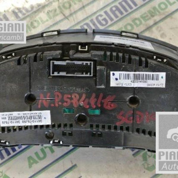 Contagiri / Contachilometri | Fiat Sedici D19AA