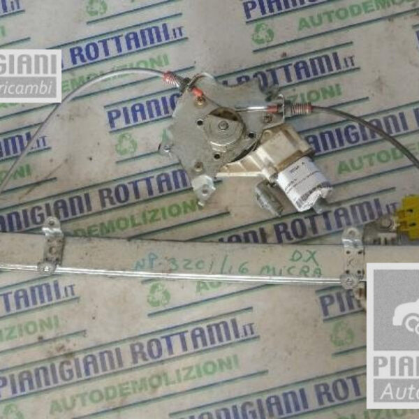 Motorino Alzacristalli Destro Nissan Micra K12