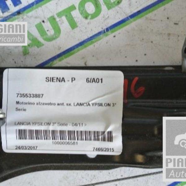 Motorino Alzacristalli Sinistro Lancia Ypsilon