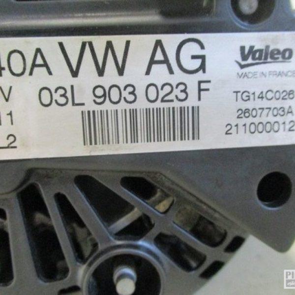 Vw Golf VI alternatore 1.6 diesel